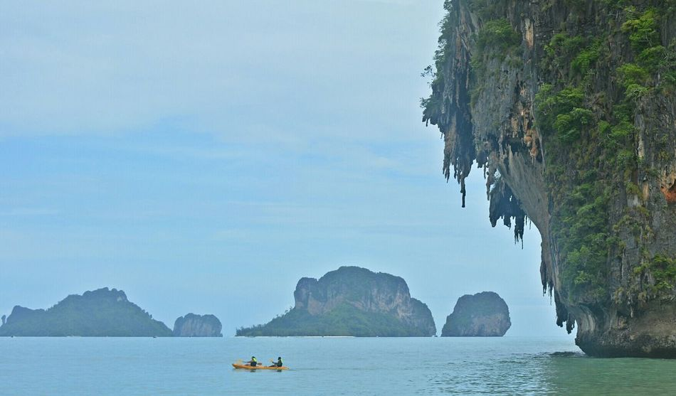 Summer Views Amazing Thailand Ao Nang, Krabi. Railay Beach Life Is A Beach Summer Travel Time!!! Eye4photography  Traveling Sea Life At The Beach Spotted In Thailand Nikon D5200 Open Edit
