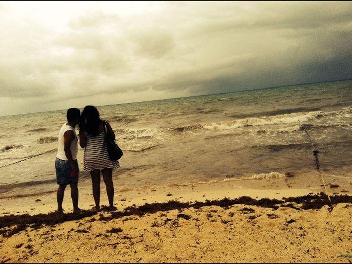 Playa Mamitas Original Extraños Enjoying Life Beach Vacation Time Cancun