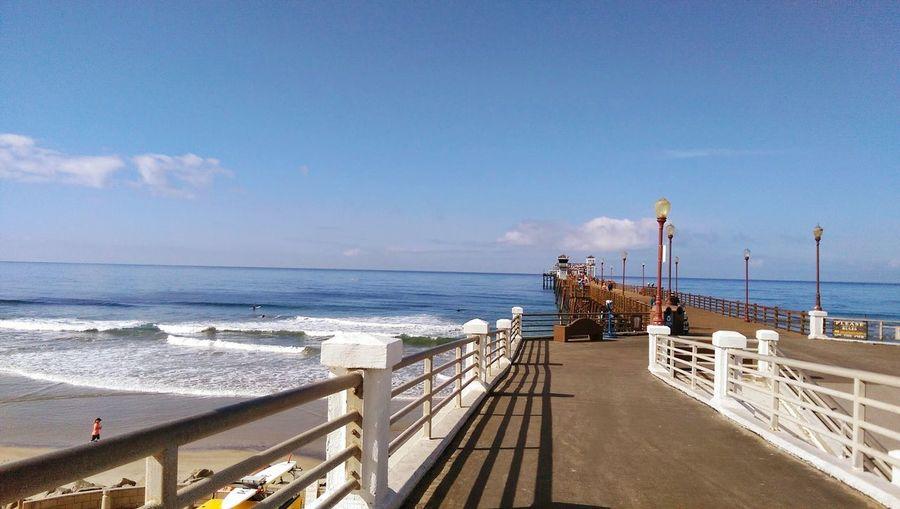Oceanside California OceansidePier Travel Destinations Scenics Peir Ocean Waves