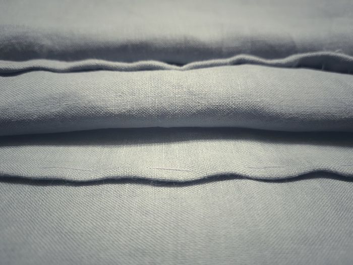 Detail shot of bed