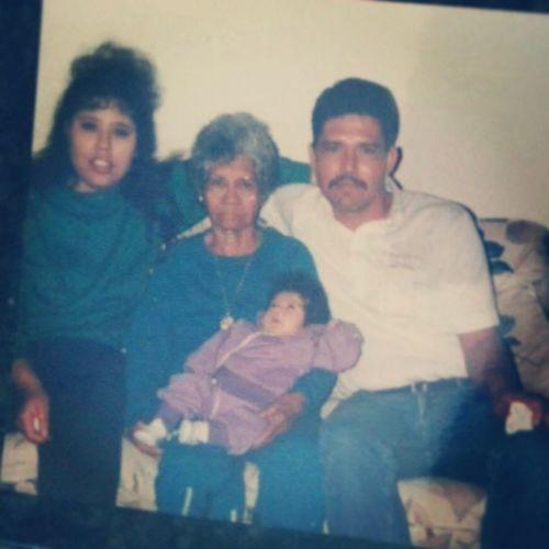 TBT  Thatbabyisme Uglychild Backin1993 /1994 mymom mytata and nana