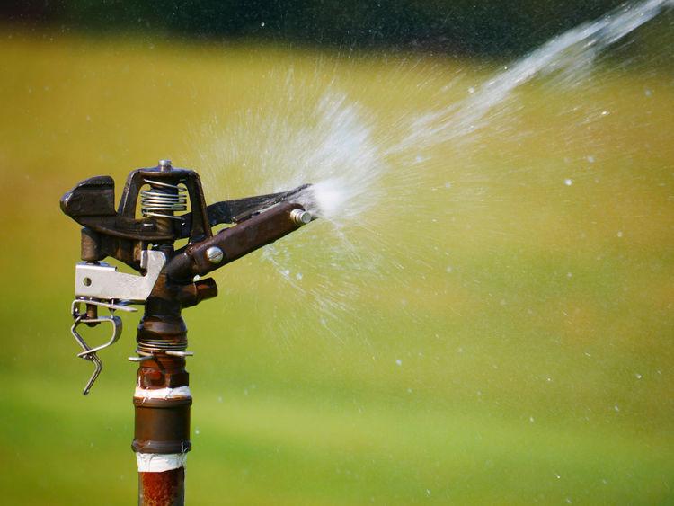Water Sprinkler in Action
