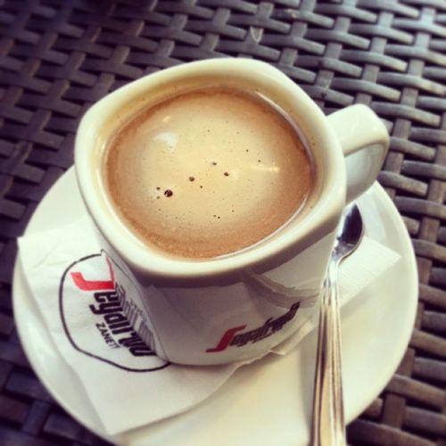 Waking up :) Coffeetime Coffee Segafredo Zanetti newday coffeelover instacoffee marasi