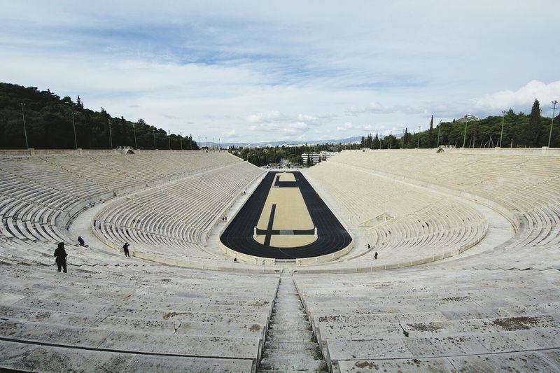 Her ble de første Olympiske leker avholdt i 1896 Athens GREECE ♥♥ Olympicdreams
