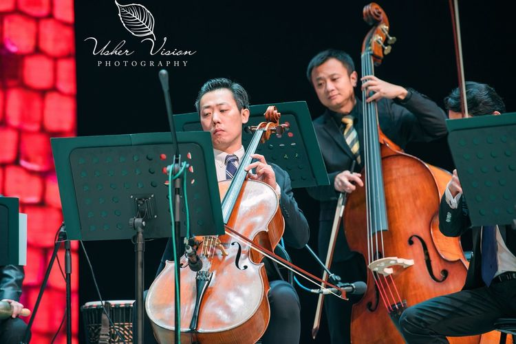 Men Classical Music Teamwork People