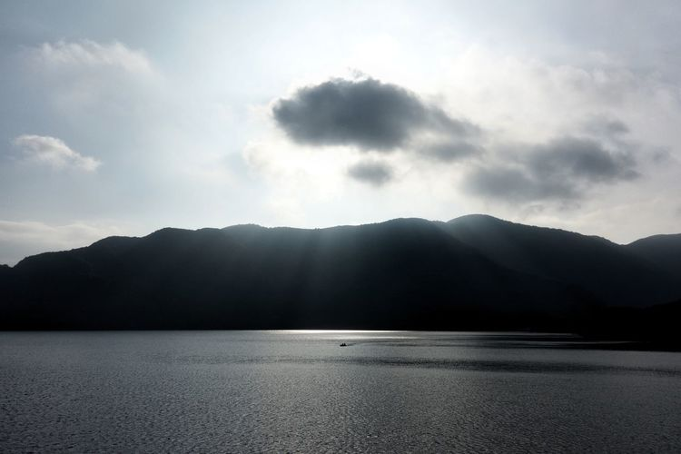 ASIA Japan Japan Photography Water Mountains Nature Landscape Beauty In Nature Hakone Sky Sun