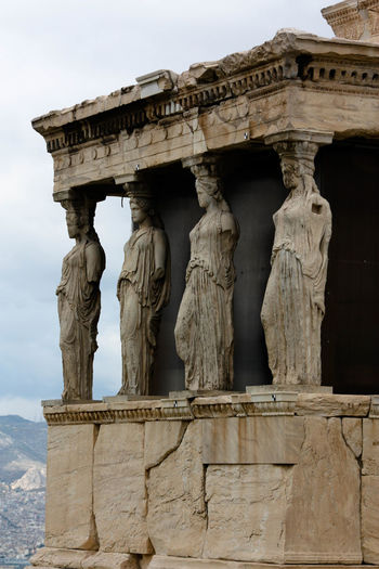 Ancient Ancient Civilization Arch Architectural Column Architecture Art Built Structure Capital Cities  Carving Carving - Craft Product Column Day Famous Place History Low Angle View Monument No People Old Old Ruin Outdoors Sky Stone Material The Past Tourism Travel Destinations