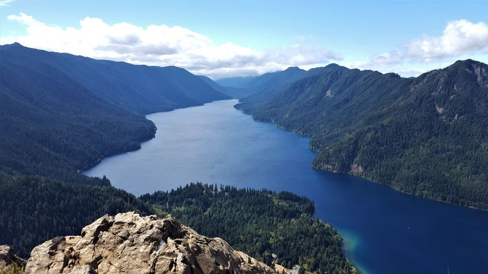 Hiking Olympic Peninsula View From The Top Washington Adventure Beauty In Nature Blue Day Landscape Mountain Mountain Range Mountains Nature Outdoors Physical Geography Scenery Scenic View The Great Outdoors Water