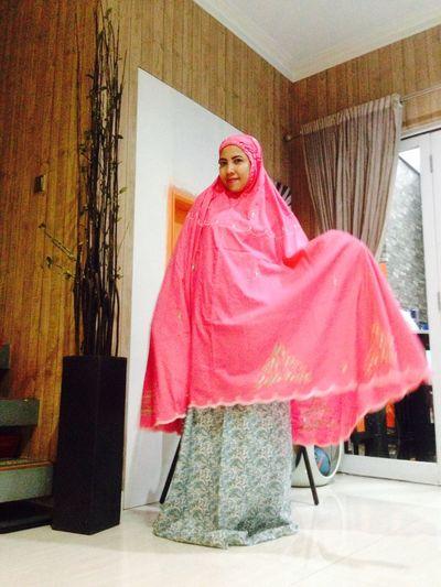 Mukena Bordir Full Cotton IslamicFashion Smile Indonesian Enjoyinglife