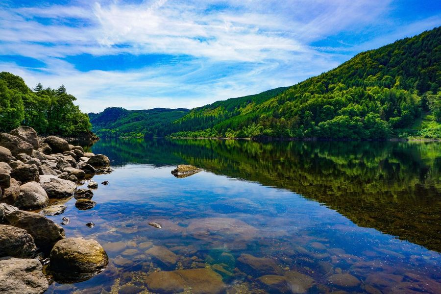 Perspectives On Nature Reflection Water Lake Scenics Nature Tranquil Scene Outdoors Tranquility Beauty In Nature Sky No People Tree Cloud - Sky Landscape Day Mountain Forest