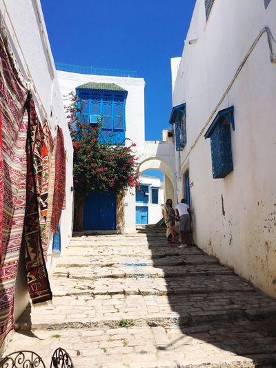 Clearly eyesight Architecture Building Exterior House Day Sunlight Clear Sky Tunisia Outdoors Sky Built Structure Residential Building