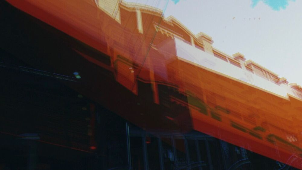 Double Exposure Camera Trick Vintage Architecture Low Angle View City Break The Mold Art Is Everywhere