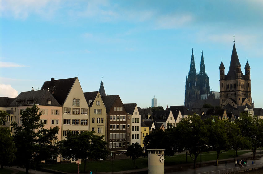 Cologne in the morning 3 Cathedral Köln Architecture Building Exterior Built Structure City Day Dom Cathedral History Nature No People Outdoors Place Of Worship Sky Travel Destinations Tree