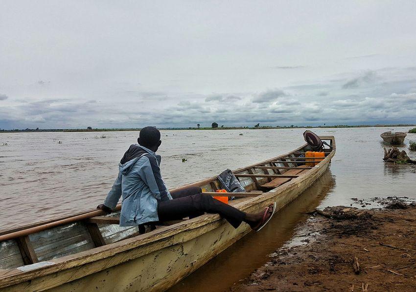 Horizon Over Water Outdoors Leisure Activity Cloud - Sky Life River Scenics Northern Nigeria