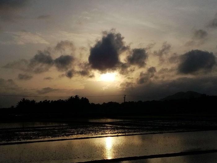 Sunset,,..shimog