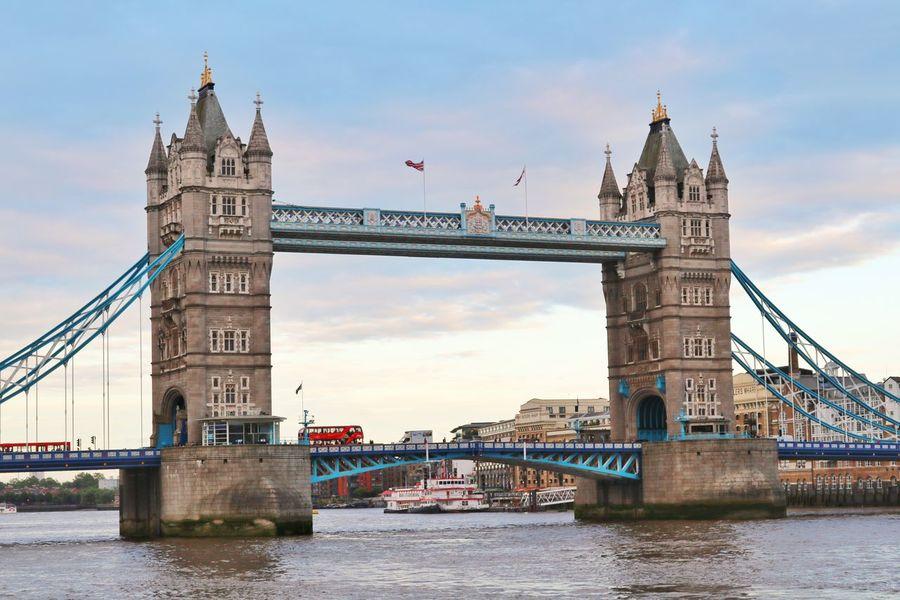 London bridge with red London bus London London Bridge London Bus EyeEm LOST IN London
