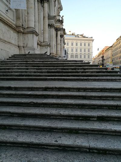 Architecture Steps Built Structure Travel Destinations Outdoors City No People Building Exterior Leica Huawei P9 EyeEm Gallery Roma Rome Adults Only Architecture