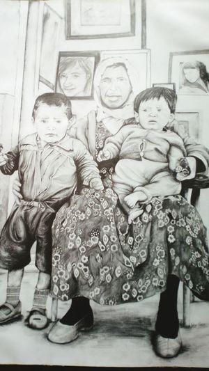Art Gallery Art, Drawing, Creativity Draw Something Drawing Eskilerden 1970's Karakalem çizimlerim Fotografta en degerli calismam:) lise son. EyeEm Gallery