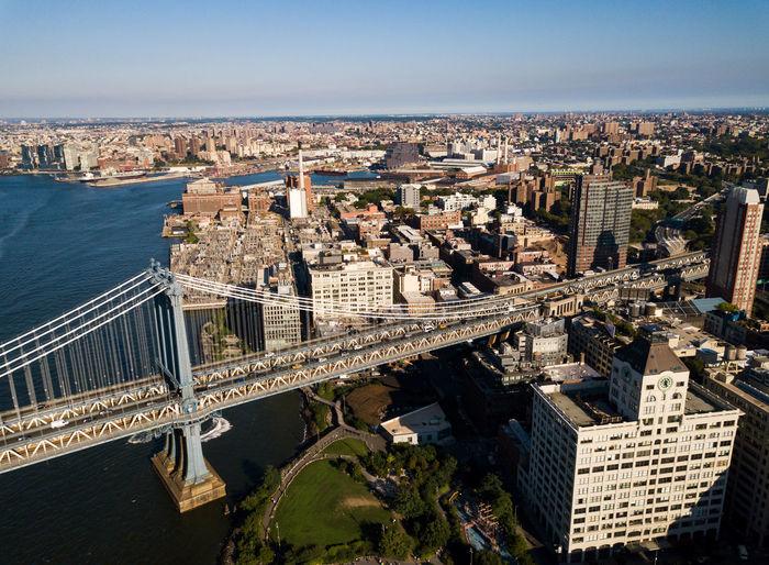 Aerial Shot Brooklyn Drone  Manhattan Manhattan Skyline New York USA USAtrip Aerial Landscape Aerial View Architecture Building Building Exterior Built Structure City Cityscape Manhattan Bridge Office Building Exterior Outdoors Sky Skyscraper