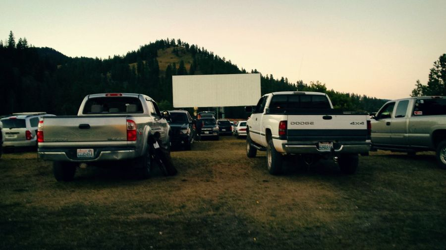 Hidden Gems  Outdoor Theater Vehicles Entertainment MOVIE Dusk Country Life