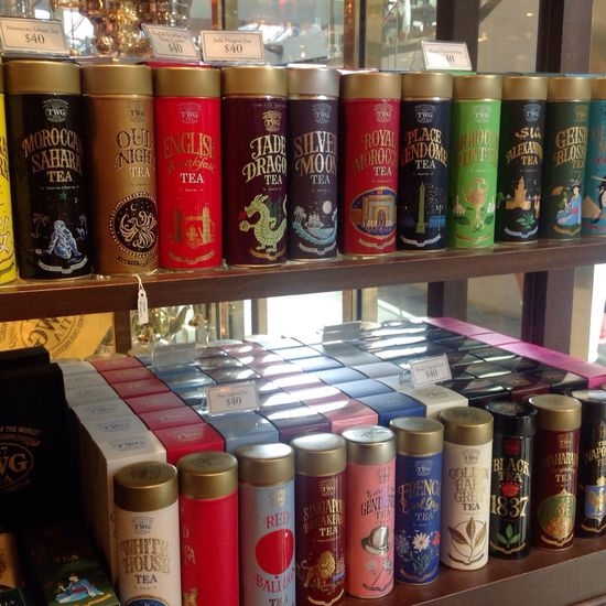 Live Love Shop TWG TWG Tea Twgtea Twgteamarinabaysands Singapore