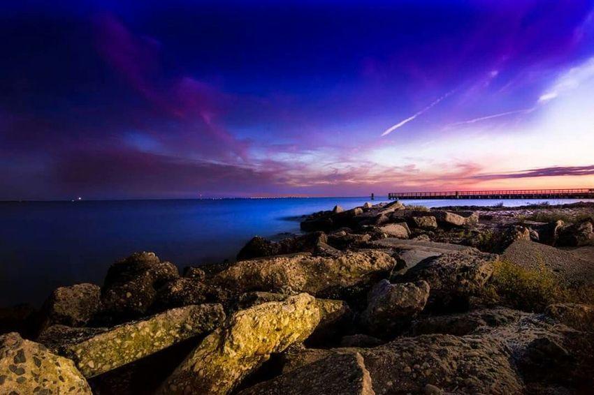 Longisland Sunset Bay Greatsouthbay Baylife Rocks Long Exposure Long Island Suffolkcounty