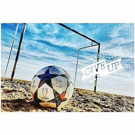 Never give up!💪⚽