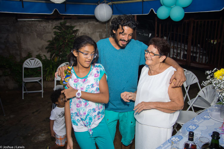 Birthdayparty Caribbean Stillife Trinidad And Tobago Beautiful People Togetherness Motherandson  Grandmother Beautiful Smiling Laughing