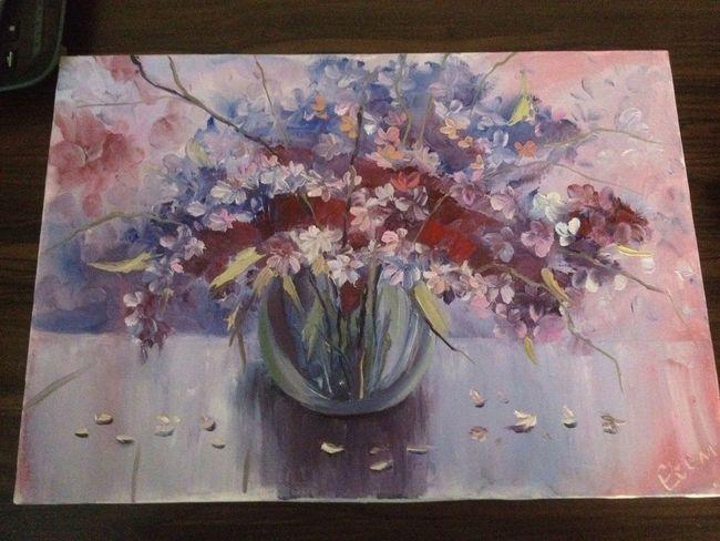 Paint Flowers Pain