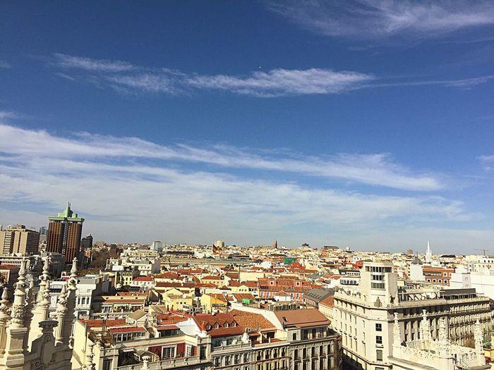 El centro de Madrid desde las alturas. Taking Photos 💖