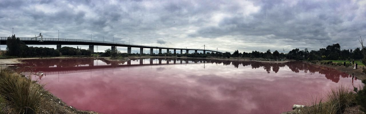 The Salt Water Lake (Pink Lake) EyeEm Melbourne Mobilephotography IPhoneography Snapseed Panorama Lake Pink Lake Documenting Space Melbourne
