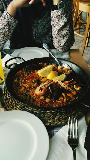 Paellas Spanish Food Seefood Delicious Mealtime Food And Drink Meal Food With My Friend Traveling In Spain In Love With Barcelona Barcelona, Spain Las Ramblas La Rambla, Barcelona Las Ramblas De Barcelona. Ready-to-eat ShareTheMeal Sharing