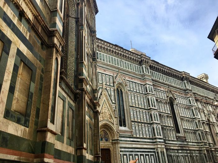 Architecture Low Angle View Built Structure Building Exterior History Sky Façade No People Outdoors Day City Florence Italy Firenze Duomo Duomo Di Firenze EyeEm Best Shots EyeEm Best Shots - Architecture