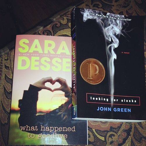 My weekend plans (: Johngreen Lookingforalaska Sarahdessen Whathappentogoodbye books