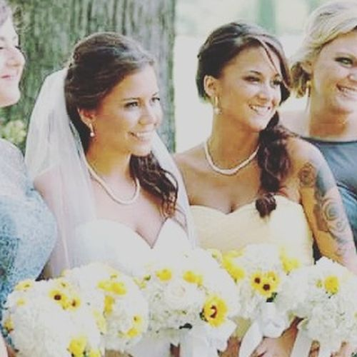 Mybeautifulsister and Me Mybestfriend Sisters Wedding Bride Maidofhonor