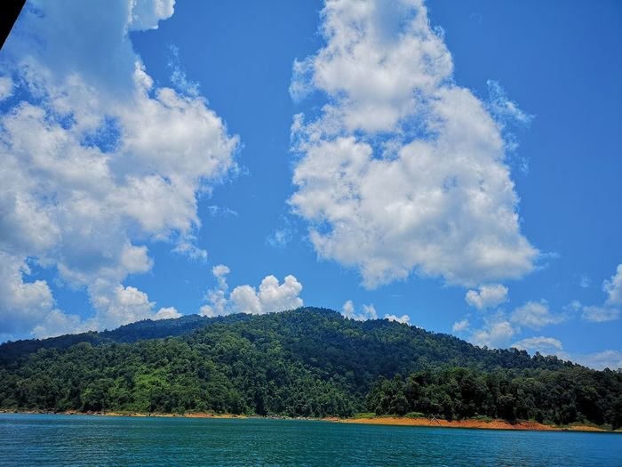 Kenyir Lake Kenyir Lake Resort Malaysia Truly Asia Malaysia Lake View Lake Lakeside Water Waterfall Water_collection Outdoors Outdoor Photography Forest Forest Photography Forestwalk Cloud - Sky Sky Beauty In Nature Scenics - Nature Mountain Tranquil Scene Day Tranquility No People Nature Sea Tree Blue Plant Idyllic Waterfront Non-urban Scene Bay View Into Land Turquoise Colored