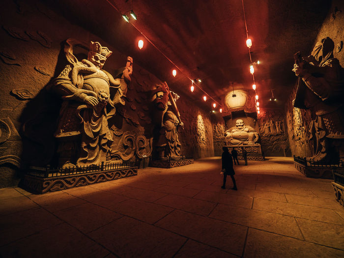 Adult Adults Only Buddha China Epic Full Length Huge Night People Temple Underground
