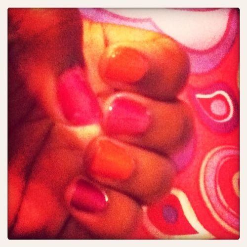 Just did my nails!