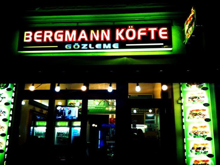 Late night snack at Bergmann Köfte Late Night Snack