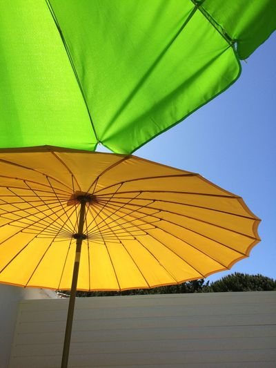 Parasol Été Orange Vert Feel The Journey Colour Of Life Live For The Story Sommergefühle