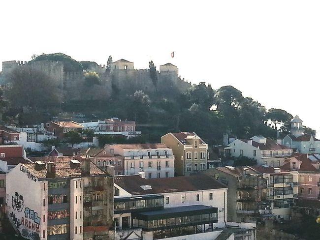 Vista do Castelo S. Jorge Walking Around Relaxing Enjoying The Sun Enjoying Life Natureza ☀⭐🍂🍀🌹😍❤ Lisbon - Portugal