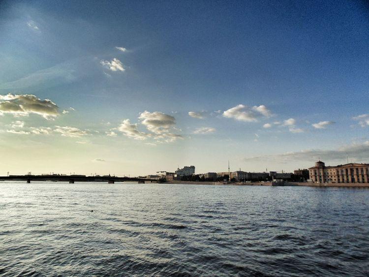 City Water Sea Cityscape Harbor Blue Sailing Ship Nautical Vessel Sailboat Sunset Calm Waterfront