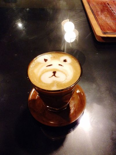 I love mocha. I love panda. I love you ☕️👻
