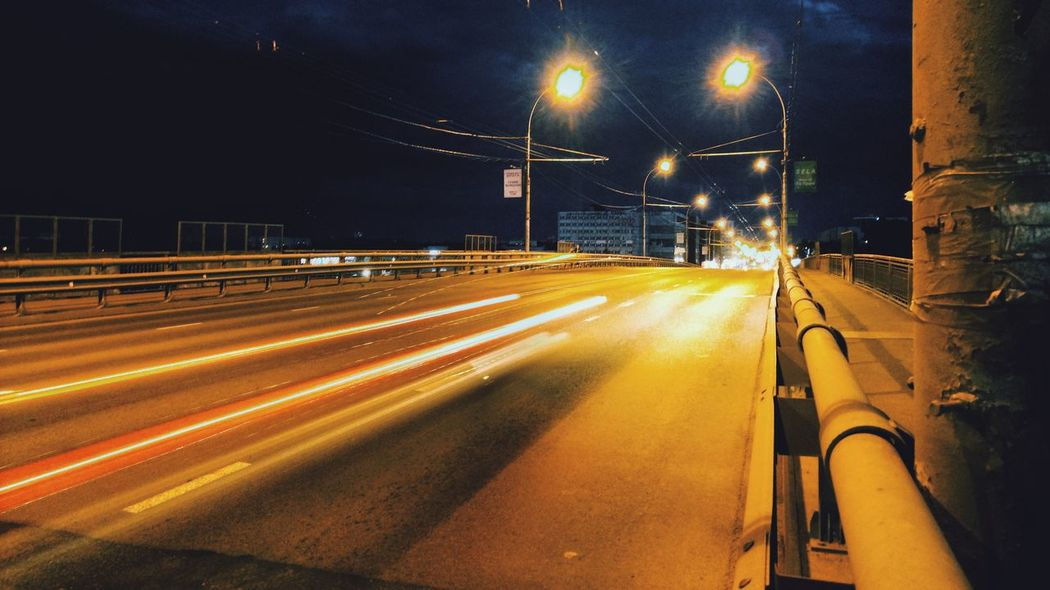 Mobilephotography City Illuminated Road Street Light Long Exposure Light Trail Motion Speed Car City Street Highway Two Lane Highway Elevated Road Vehicle Light Car Point Of View China World Trade Center Headlight Multiple Lane Highway