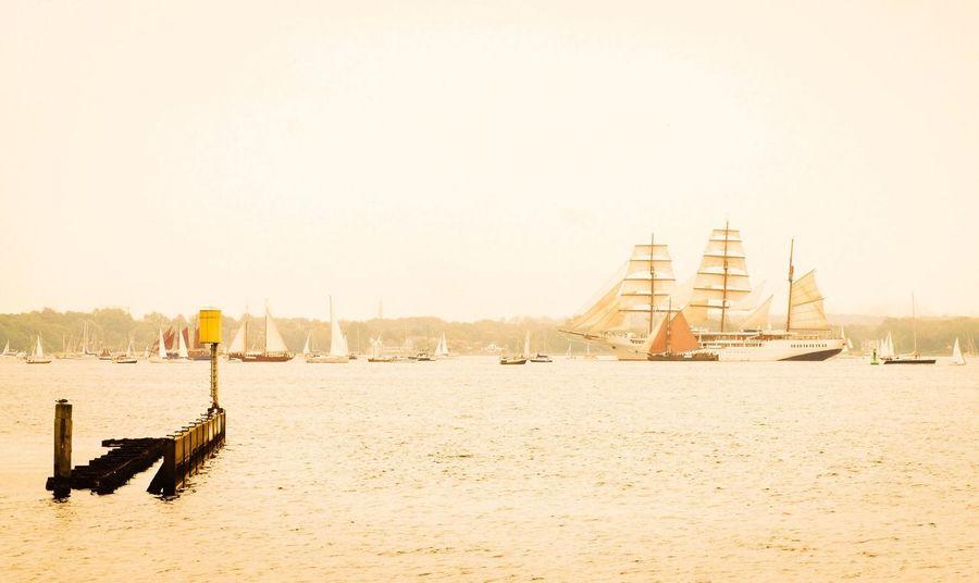 Kieler Woche Going Sailing City Ships Windjammerparade 2014