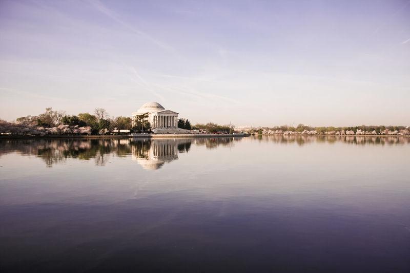 Tidal Basin Washington, D. C. Jefferson Memorial Tidal Basin Cherry Blossoms EyeEm Best Shots Spring EyeEm Best Shots - Landscape
