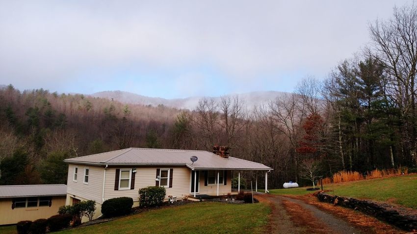 Mountains Boone NC Clouds And Sky Country Living House