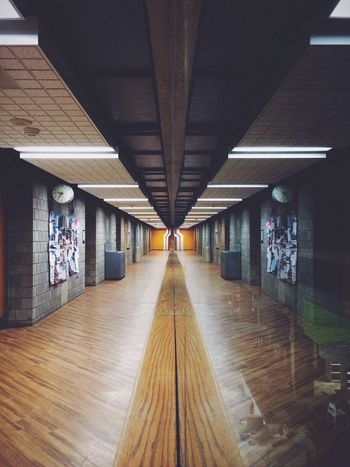 Absence Architectural Column Architecture Built Structure Ceiling Column Corridor Day Diminishing Perspective Empty Flooring Illuminated In A Row Lighting Equipment Narrow No People Repetition The Way Forward Vanishing Point Walkway