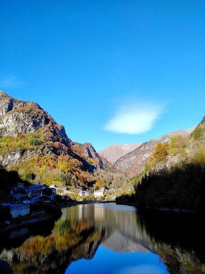 Rimasco Valsesia Rimasco Vc Italy Sky Scenics - Nature Tranquility Beauty In Nature Tranquil Scene Water Mountain