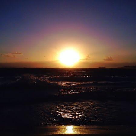 Beach Beautiful Hawaii #sunset #sun #clouds #skylovers #sky #nature #beautifulinnature #naturalbeauty #photography #landscape